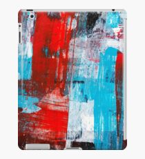Modern Turquoise Abstract iPad Case/Skin