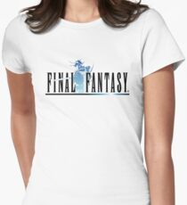 Final Fantasy Women's Fitted T-Shirt