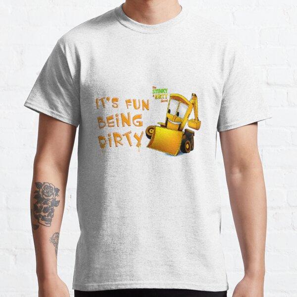 Lustig, stinkig schmutzig zu sein, schmutzig zu sein Classic T-Shirt