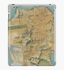 Vintage Map of San Francisco (1915)  iPad Case/Skin