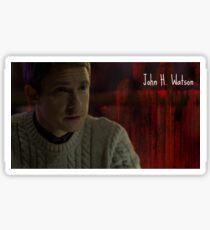 John H. Watson Sticker