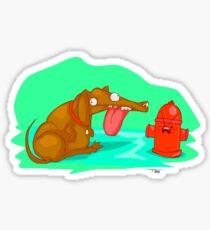 Tehz Pup Sticker