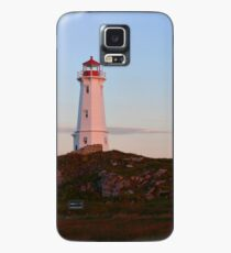 Sunrise at the Lighthouse Case/Skin for Samsung Galaxy