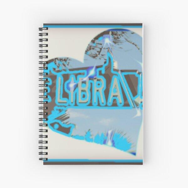 Libra Drive Spiral Notebook