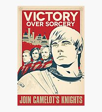 Join Camelot's Knights Photographic Print