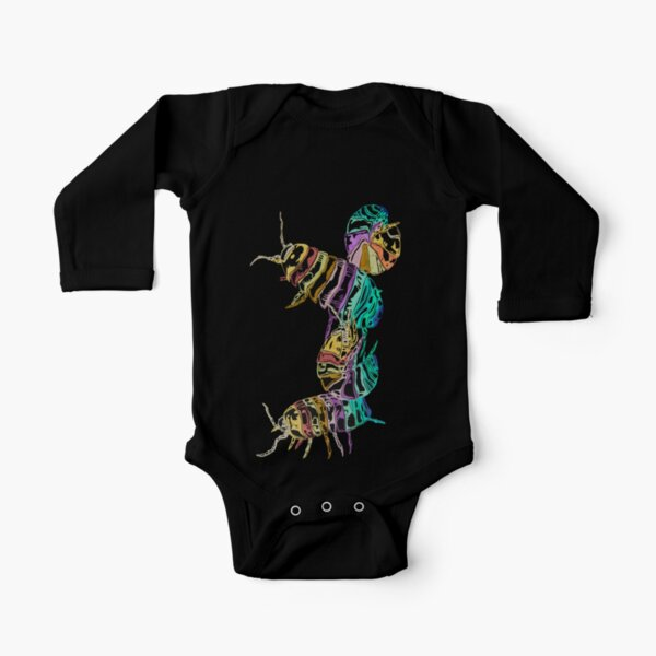 Pill Bugs Long Sleeve Baby One-Piece