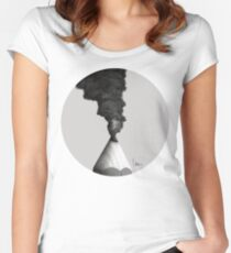 Vulcano Pencil Women's Fitted Scoop T-Shirt