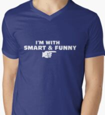 I'M WITH SMART & FUNNY T-Shirt