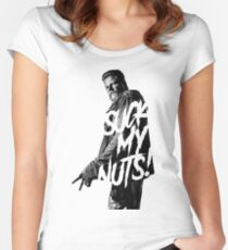 SUCK MY NUTS Women's Fitted Scoop T-Shirt