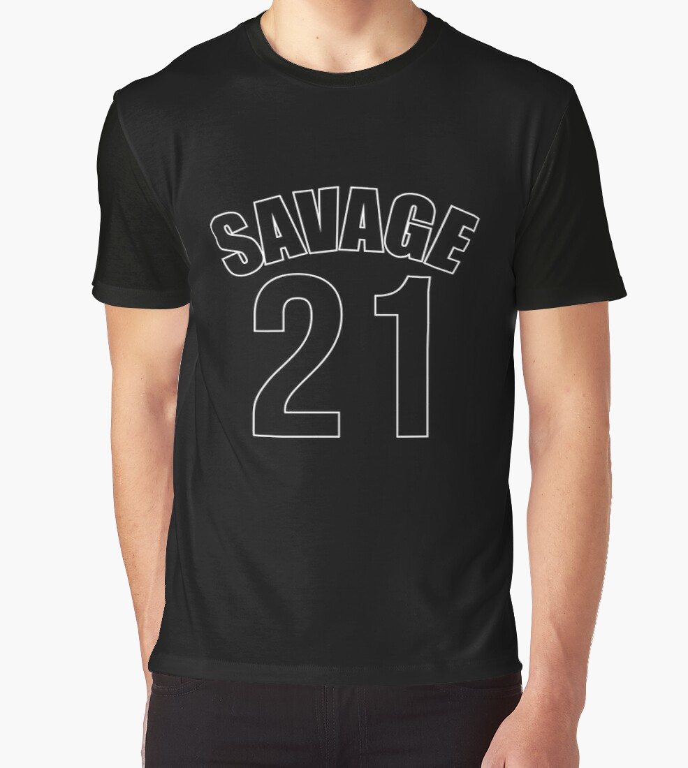 T shirt design hip hop - 21 Savage Atlanta Hip Hop Design Dope By Wickedways