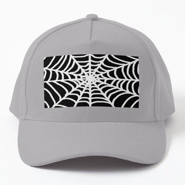 white  spiders  web Baseball Cap
