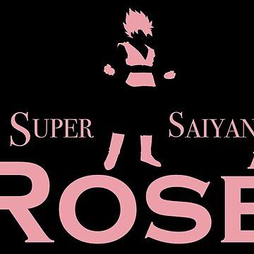 SUPER SAIYAN ROSÉ by TigerMan