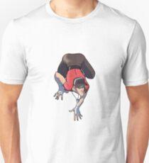 Scout strikes Spiderwoman's infamous pose Unisex T-Shirt