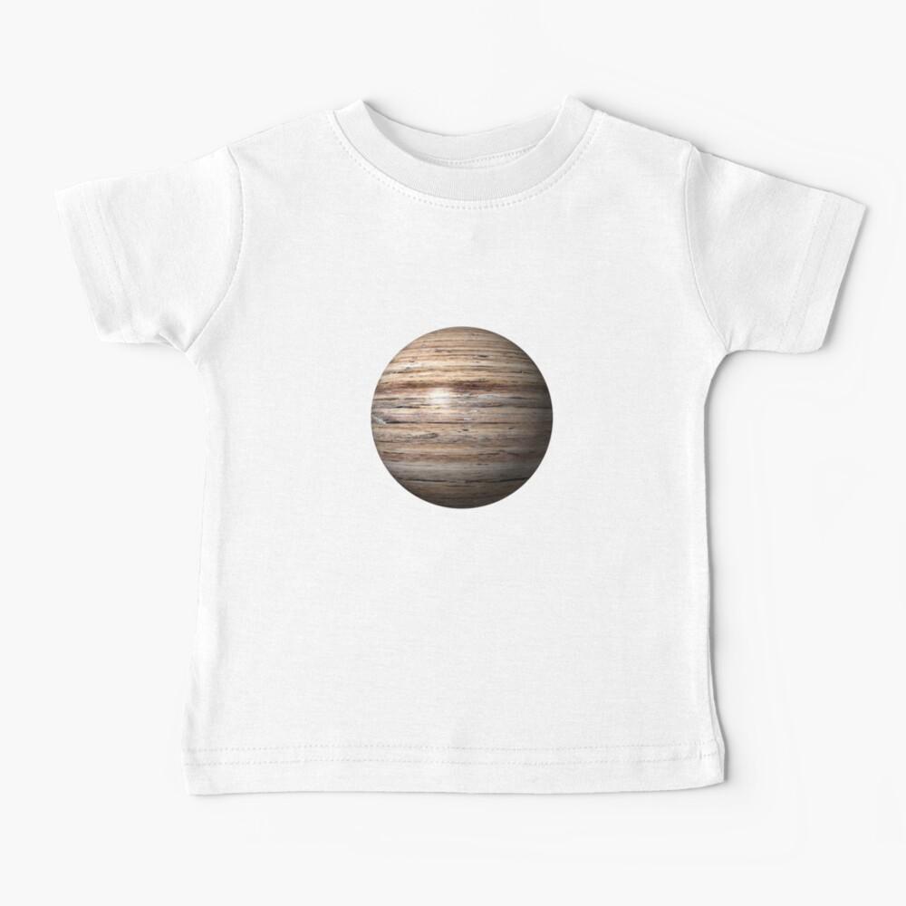 Wooden Globe Baby T-Shirt