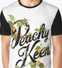 Peachy Keen : Mint Graphic T-Shirt