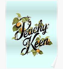 Peachy Keen : Mint Poster