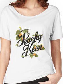 Peachy Keen : Mint Women's Relaxed Fit T-Shirt