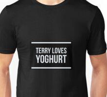 Terry Loves Yoghurt. Unisex T-Shirt