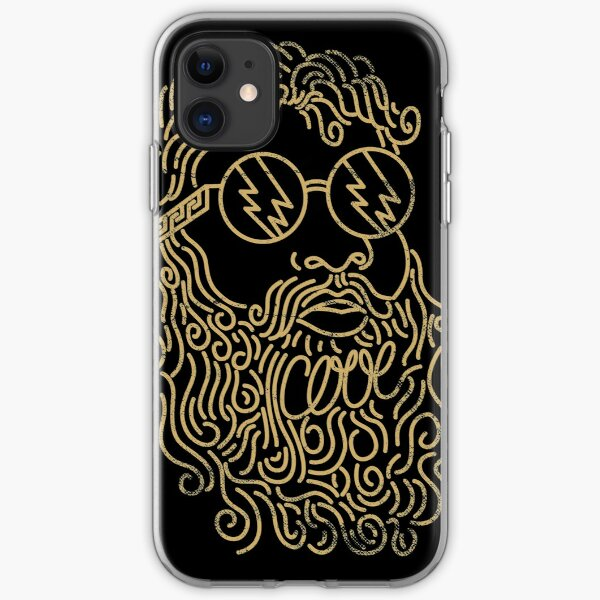 A Cool God iPhone Soft Case