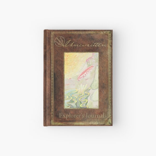 Unwritten Explorer's Journal ~ Dovah-Tsavahn Hardcover Journal