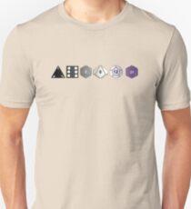 Camiseta ajustada Orgullo Asexual (Edición Poliédrica)