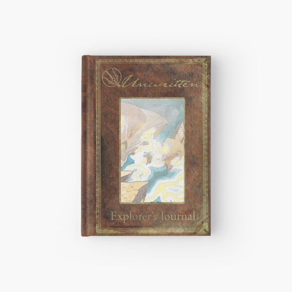 Unwritten Explorer's Journal ~ Maelstrom Hardcover Journal