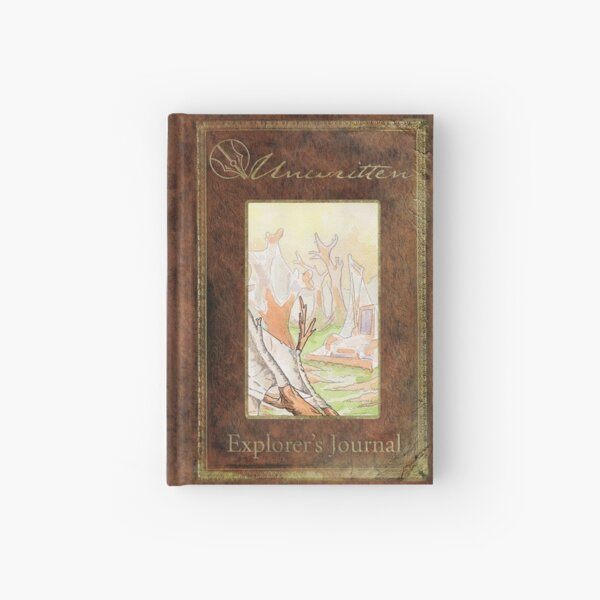 Unwritten Explorer's Journal ~ Weavers Hardcover Journal