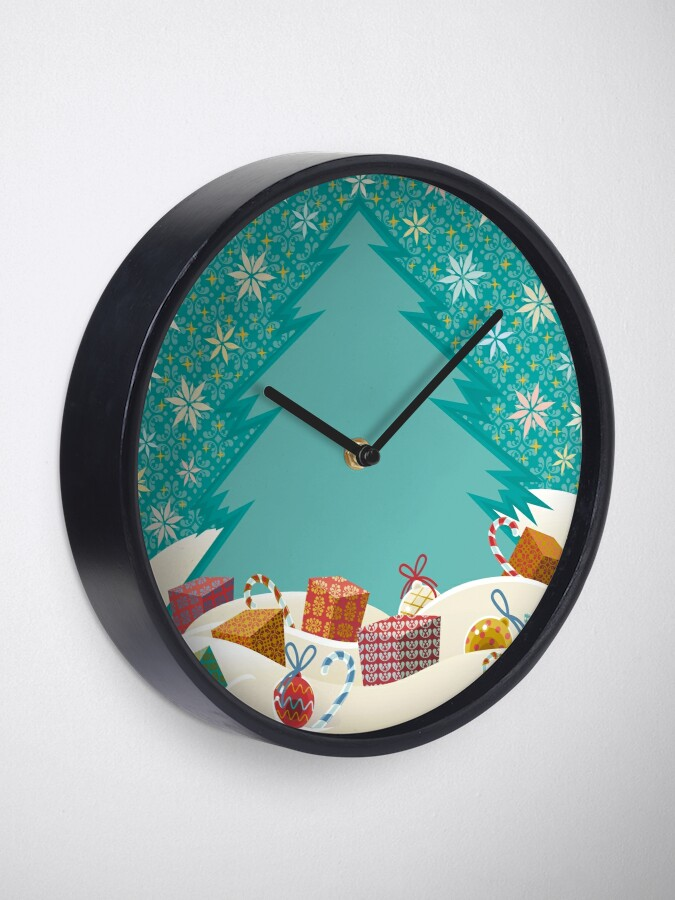 Alternate view of Christmas Eve Clock