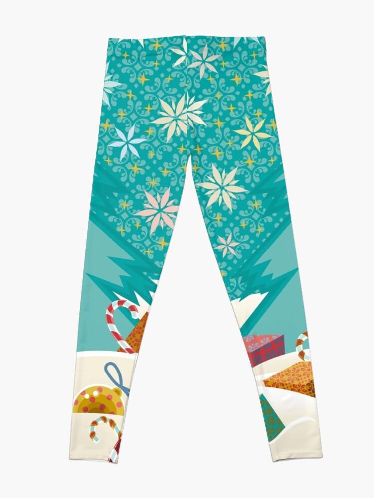 Alternate view of Christmas Eve Leggings