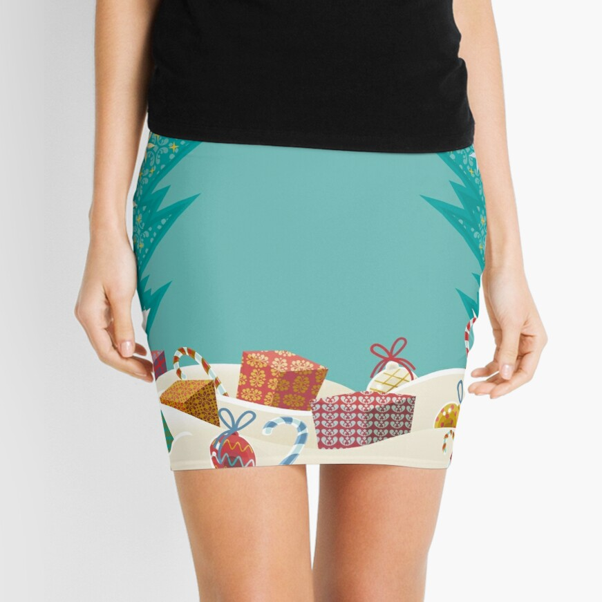 Christmas Eve Mini Skirt