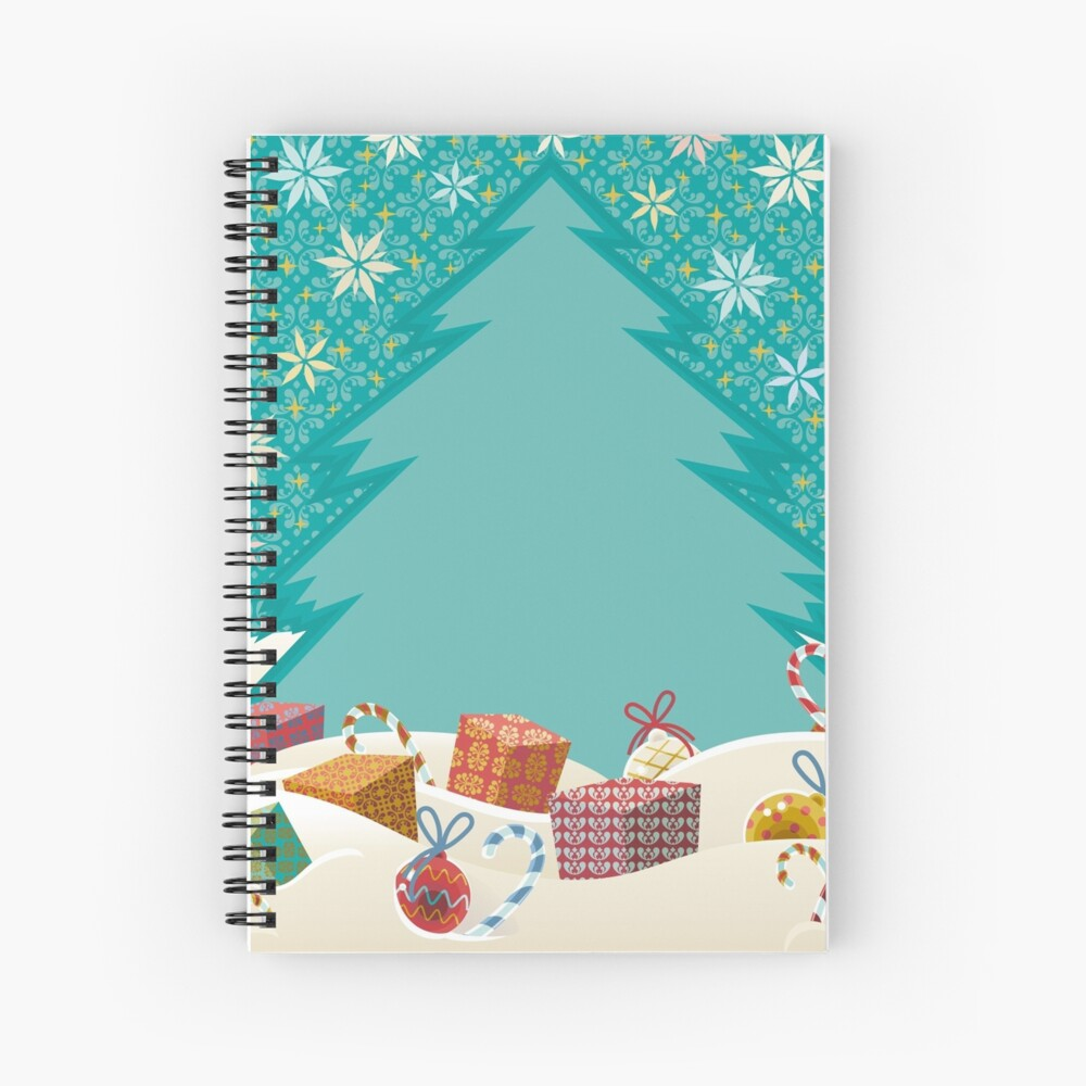 Christmas Eve Spiral Notebook