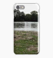 a cross the water  iPhone Case/Skin