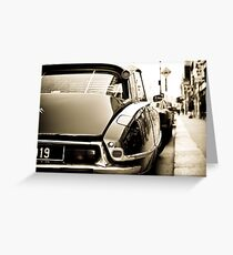 Citroën DS Greeting Card