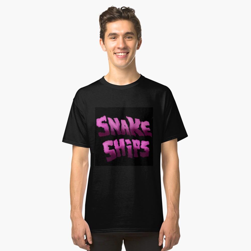 Snake Ships Logo  Classic T-Shirt Front