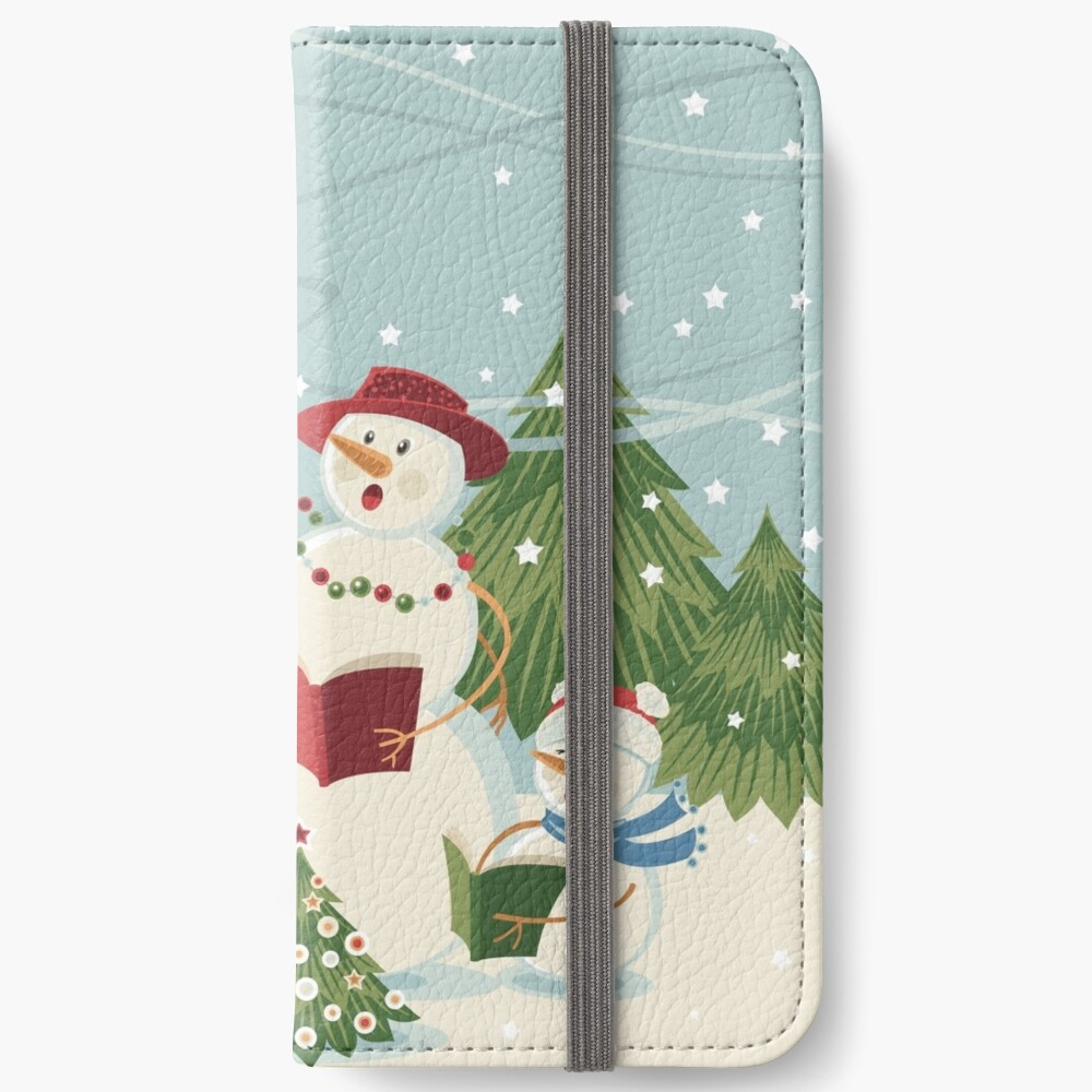 Christmas Song iPhone Wallet
