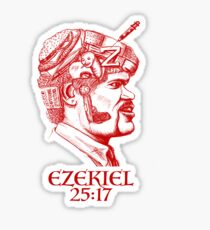 Ezekiel 25:17 The Path of the Righteous Man Sticker