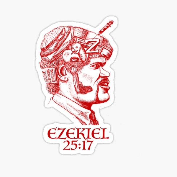 Ezekiel 25:17 The Path of the Righteous Man Sticker
