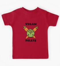 Vegan Pirate Kids Tee
