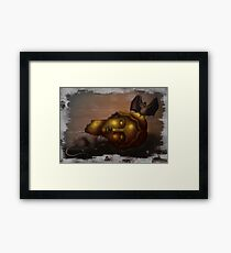 To The Rodents Framed Print