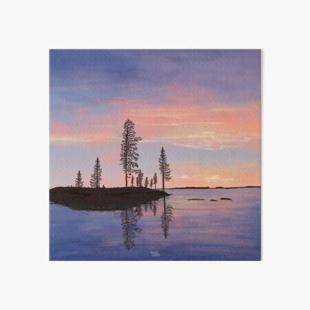 Sweet Summer Evening - Lapland8seasons Art Board Print