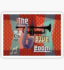 The Blue Room Sticker