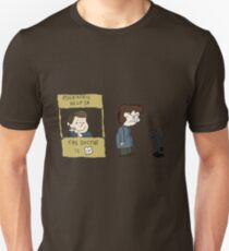 THE DOCTOR IS IN - Hannibal & Peanuts Crossover Art T-Shirt