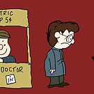 THE DOCTOR IS IN - Hannibal & Peanuts Crossover Art by Kaitlin Kelly