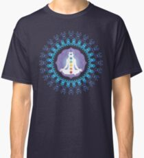 Young woman practicing meditation 10 Classic T-Shirt