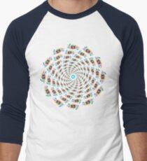 Psychedelic eyes mandala 15 Men's Baseball ¾ T-Shirt