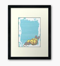 To The Rodents - Graphic Print Framed Print