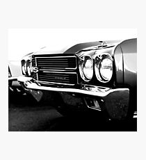 1970 Chevy Chevelle SS - High Contrast Photographic Print