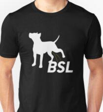 Piss on BSL Breed Specific Legislation Unisex T-Shirt