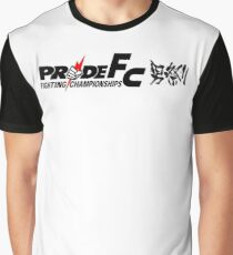 Pride Fighting Championships Japanese mixed martial arts. Graphic T-Shirt