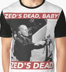 ZED'S DEAD Graphic T-Shirt